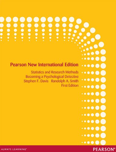 Introduction to statistics and research methods pearson new introduction to statistics and research methods pearson new international edition becoming a psychological detective fandeluxe Images