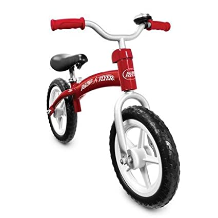 Radio Flyer Bike >> Radio Flyer Glide Go Balance Bike Red