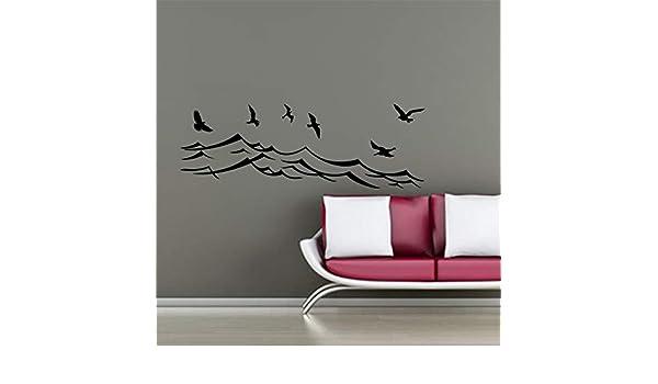 pegatinas de pared tortugas ninja Ola Con Pájaros Para ...