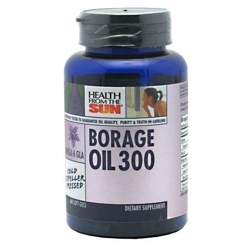 Health From The Sun Borage Oil 300 Mg 60 Cap