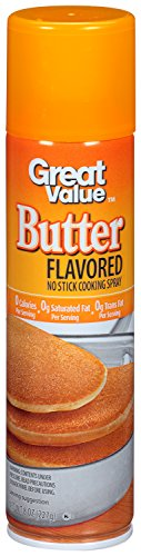 PACK OF 12 - Great Value Butter Flavored Cooking Spray, 8 oz by Great Value (Image #3)