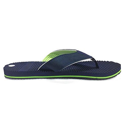 Urbanfind Mens Klassiska Flip-flops Sommar Lätt Toffel Rem Sandaler Blå Style2