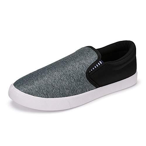 2ROW Men's Color Block Grey Sneakers (9) (B08D3R67LN) Amazon Price History, Amazon Price Tracker