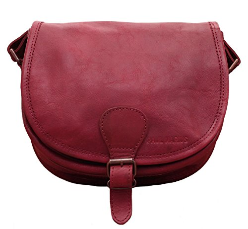 PAUL MARIUS Borsa a tracolla in pelle arty borsa donna rosso scuro LE BOHEMIEN Profesional De Salida AxHWHv5B
