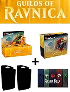 Magic MTG Guilds of Ravnica Booster Box + Bundle + Both Planeswalker Decks + All 5 Guild Kit Decks