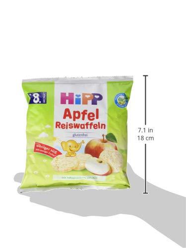 30 g Hipp Apfel Reiswaffeln