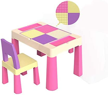 Folding table and chair Juego De Mesa Y Silla para NiñOs, Mesa De ...