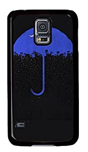galaxy s5 case,custom samsung galaxy s5 case,TPU Material,Shock Absorbent,Drop Protection,black case,Under the umbrella of city night
