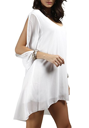 Les Robes De Soirée Des Femmes Omzin Blanc
