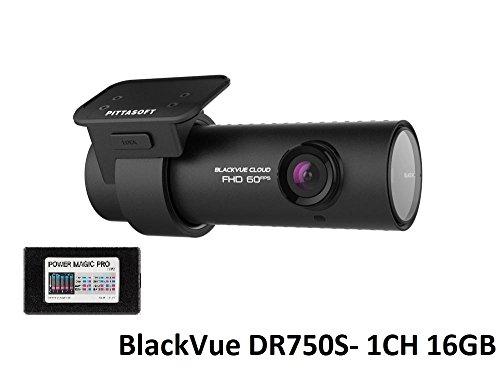 BlackVue DR750S 1-Channel 1080P Full HD Dashcam (16GB + Power Magic Pro) by Blackvue