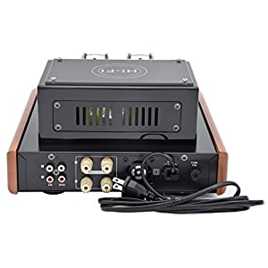 Kkika Hybrid Tube Amplifier HI-FI Stereo Amplifier 15Wx2 Vaccum Tube AMP Support CD/DVD