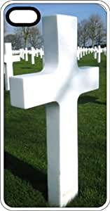 Cemetery Full Of Crosses White Plastic Case for Apple iPhone 6