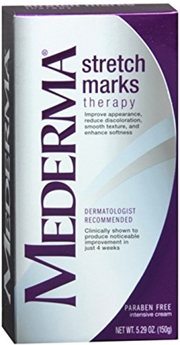 Mederma Stretch Marks Therapy Cream 150 g (Pack of 2) by Mederma