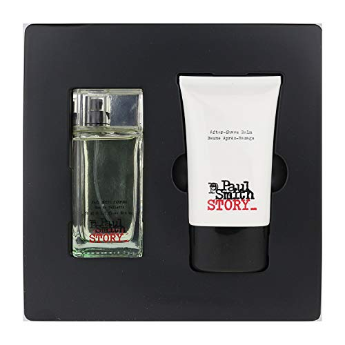 (Paul Smith Story 1.7 Oz Edt Spray +3.3 After Shave Balm Set Mens Cologne)