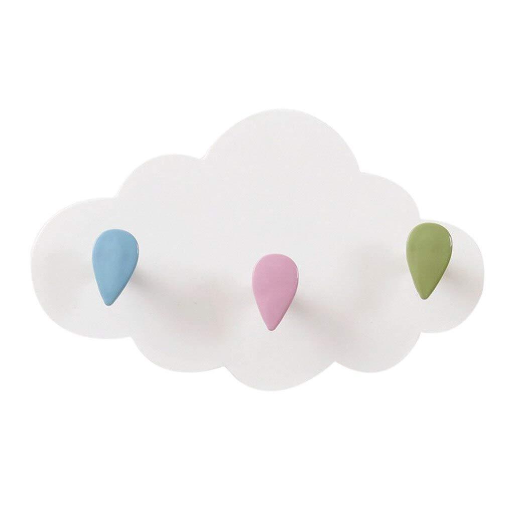 Amazon.com: Home Storage - Creative Cloud Cartoon Glue Hook ...