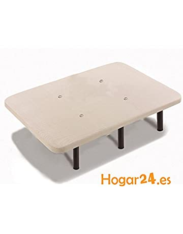 HOGAR24 Base TAPIZADA + 6 Metal con Tejido 3D Y Válvulas DE TRANSPIRACIÓN-135 x