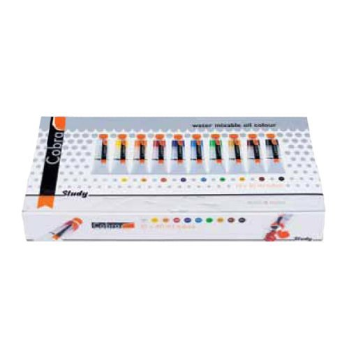 Royal Talens Cobra Artists' Water Mixable Oil Color Set, 40ml Tubes, 10 Assorted Colors (25820510) ()