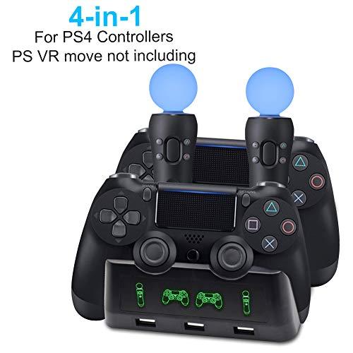 Une station de Charge pour pour PS4/PS Slim/Pro PS4 MOVE/PS VR
