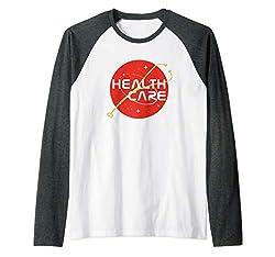 Health Care Force Raglan Baseball Tee