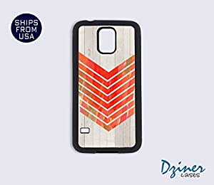Galaxy Note 2 Case - Colorful Arrow On Wood print