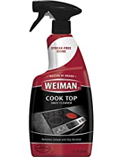 Weiman Cooktop Cleaner and Polish 22 Fluid Ounces - Daily Cleaner - Shines and Protects Glass and Ceramic Smooth Top Ranges - Gentle Formula