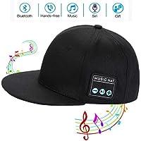 Edyell Bluetooth Speaker Beanie Baseball Music Headphones Leisure Cap