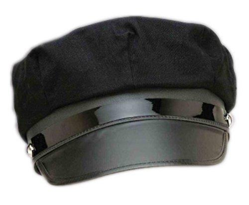Women's Chauffeur Costume (Adult size Deluxe Black Chauffeur Hat)