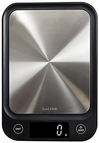 Salter Digital Kitchen Scales, Electronic Food Scale, Ultra Slim Design, Accurate Weighing Home Cooking + Baking, Metric…