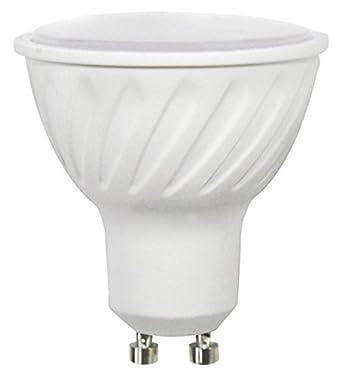 Wonderlamp W-B000009 - Bombilla LED SMD alta potencia GU10 Cristal Mate , 7 W