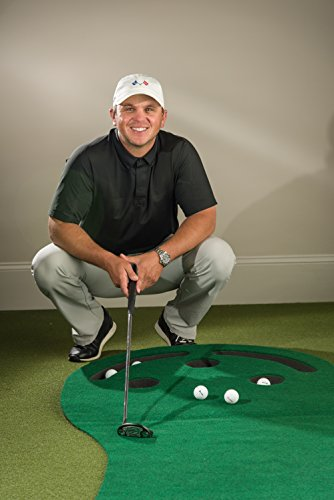 Golf-Putting-Green-Indoor-Mat-9x3-Designed-By-Shaun-Webb-PGA-Pro-Golf-Digests-Top-Teacher-Premium-Backing-No-Creases-Deeper-Holes-Thicker-Wider-Surface-Great-for-Home-or-Office
