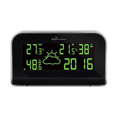 ELV Wetterstation MA10430 inkl kompatibel mit Mobile-Alerts-System Außensensor
