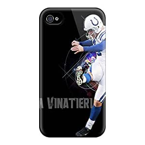 Excellent Hard Phone Cases For Iphone 4/4s With Allow Personal Design Beautiful Indianapolis Colts Pictures JasonPelletier