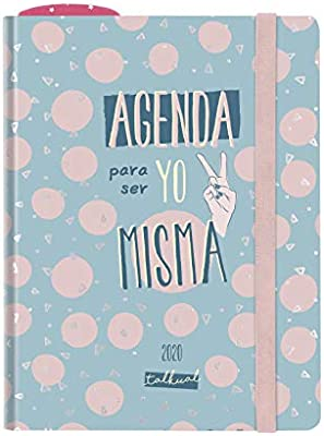 Finocam Talkual Misma, Agenda 2020 Español, Semana Vista Apaisada ...