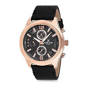 Daniel Klein Analog Black Dial Men's Watch-DK12171-2