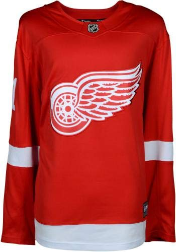 Dylan Larkin Detroit Red Wings Autographed Red Fanatics Breakaway Jersey Fanatics Authentic Certified