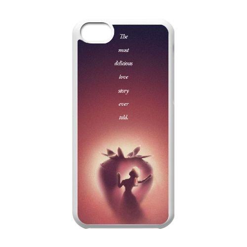 Q7H38 Disney Beauty and the Beast L8K8FT coque iPhone 5c cellulaire cas de téléphone couvercle coque blanche HY1UMT6TU