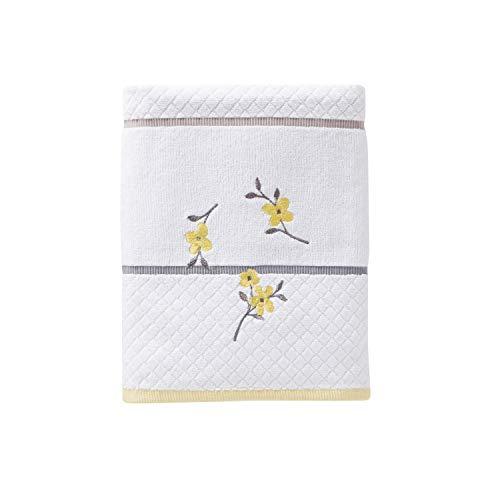 - SKL Home by Saturday Knight Ltd. Spring Garden Bath Towel, White