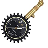 QiMox Accurate Tire Pressure Gauge 60 PSI With Pressure Release Valve Best for Reading Car Truck