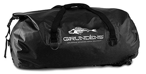 Grundens Gage 105L Shackelton Duffel Bag Black