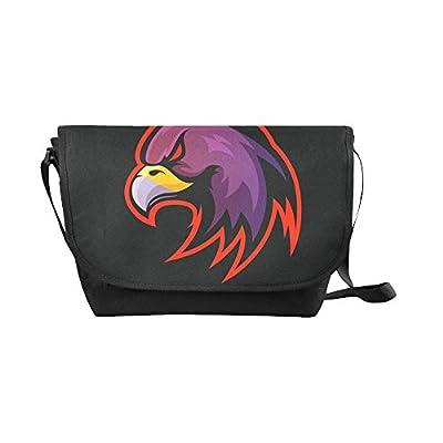 e849a688cf durable modeling Crossbody Bag eagle logo Black Nylon Daypacks Casual  Messenger Shoulder Bag