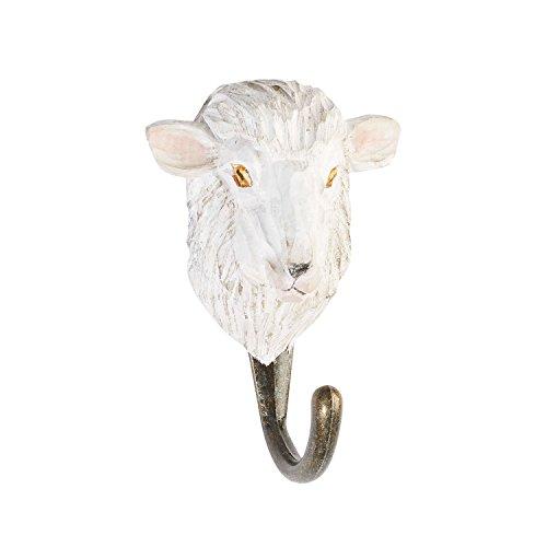 Wildlife Garden Deco Hook Hooks Pets (Leash Painted Wooden Hand Holder)