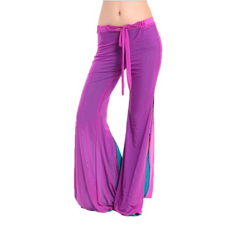 H: oter Belly Dancing Tanzen Sexy Pant, bequemes Material, Preis / Stück - blau
