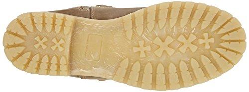 clásicas marrón Botas larga longitud con 341 cálido Braun forro Taupe 26615 Tamaris 7Cq8E5