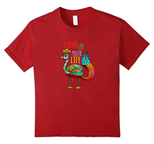 kids-color-up-your-life-rainbow-bird-positive-vibes-t-shirt-8-cranberry