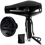 Best Blow Dryers For Frizzy Hairs - hairdryer Professional Hair Dryer 1875W Blow Dryer Fast Review