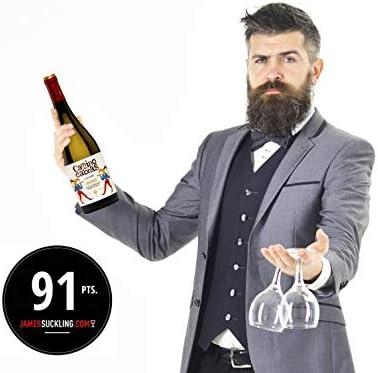 CAMINO DE CABRAS Estuche de vino - Albariño - vino blanco – D.O. Rías Baixas – Producto Gourmet - Vino para regalar - Vino Premium - 2 botellas x 750 ml.