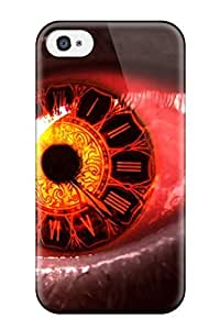 Fashion Tpu Case For Iphone 4/4s- Dark Artistic Defender Case Cover