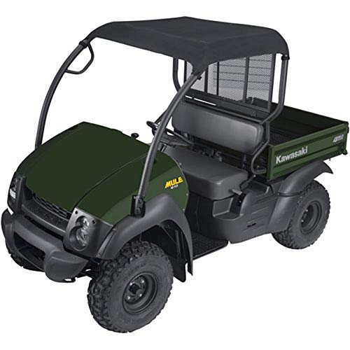 Mule Utility Vehicle - QuadGear Extreme UTV Roll Cage Top - Black 2009 Kawasaki KAF400 Mule 610 4x4 Utility Vehicle