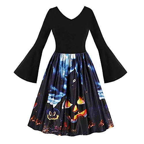 Urban Outfitters Wolf Costumes - iLOOSKR Vintage Women Long Sleeve Pumpkins