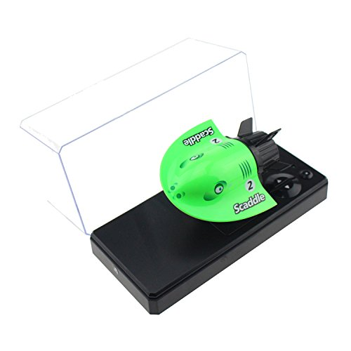 Tipmant 4CH Mini RC Submarines Remote Controlled Boat Water Toy Kids Gift (Green)